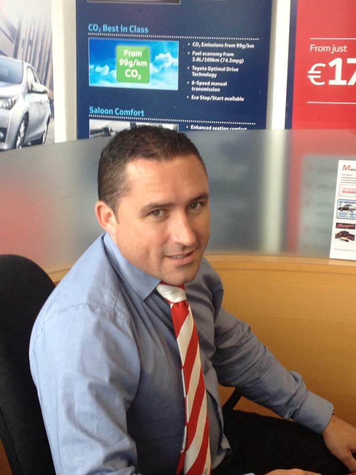Kevin Monahan Sales Manager